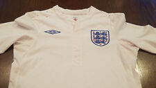 Women's Umbro England National Football Team Logo Star Soft Jersey Shirt (34)
