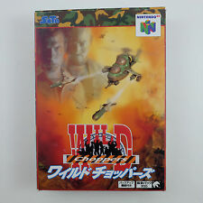 WILD CHOPPERRS (Nintendo 64, 1998) Import Japan N64 Complete CIB