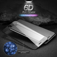 6D Full Cover Tempered Glass Screen Protector Film For iPhone 8 7 6S 6 Plus