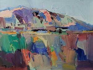 JOSE TRUJILLO Oil Painting IMPRESSIONISM CONTEMPORARY DESERT LANDSCAPE ART