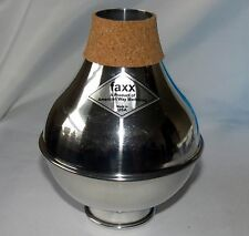 NEW Aluminum Wah Wah Bubble Mute from Faxx for cornet or trumpet it sounds GREAT