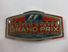 2005 Formula-1 United States Grand Prix  Event Collector Pin IMS Indy500 Ferrari