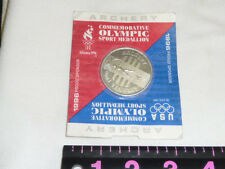 Vintage Atlanta 1996 ARCHERY Olympic Sport Coin Medallion in Original Package