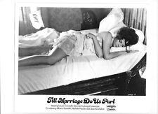 Laura Antonelli leggy VINTAGE Photo Till marriage Do Us Part