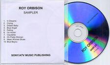 ROY ORBISON Sampler UK 10-track promo only publishing CD Sony/ATV Music