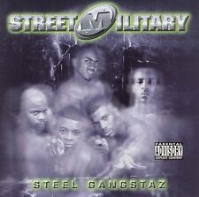 Steel Gangstaz [PA] by Street Military (CD, Aug-2001, Beat Box Records)