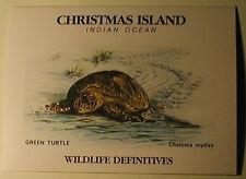 Christmas Island 211a Sg 229a Wildlife Sheet in Presentation Folder Mint Nh