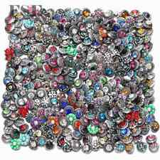 Wholesale Mix 12mm Snap Button Mini Rhinestone Snap Charms For 12mm Snap Jewelry