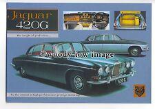 tm5685 - Jaquar 420G ( 1967 )- British Cars of the 50's & 60's postcard