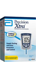 DSS Precision Xtra Meter Blood Glucose & Ketone Monitoring System 1 Ct Each