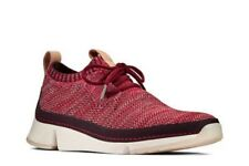 CLARKS Women's Tri Native. Trainers Dark Red Size UK 5 Boxed RRP £79
