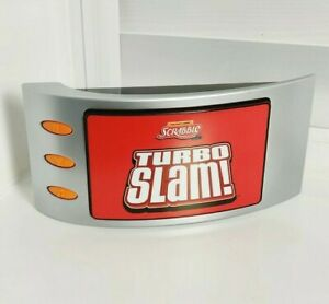 Hasbro Electronic Scrabble Game  Turbo Slam Family Game  - Complete