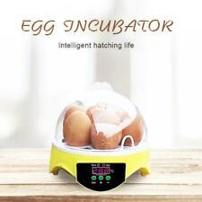 7 Grid Automatic Clear Digital Chick Duck Bird Egg Incubator Househould Hatcher