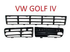 VW GOLF IV 4 98-03 GITTER GRILL IN STOßSTANGE BLENDE LINKS RECHTS MITTE SET HQ