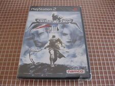 PS2 SOULCALIBUR III NTSC JAP PLAYSTATION 2 SONY NEW SEALED