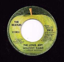 BEATLES * 45 * The Long And Winding Road * 1970 * Good/ VG ORIGINAL USA APPLE