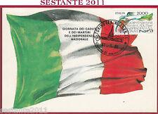 ITALIA MAXIMUM MAXI CARD ROMA 597 GIORNATA CADUTI INDIPENDENZA 1986 TORINO B706