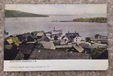 1906 BADDECK, NS, HARBOR VIEW SOUVENIR POST CARD ALBERT M. MACLEOD POSTCARD