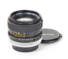 Canon S.S.C FD 1.4/50mm f/1.4 50mm 1:1,4 mount Canon FD A-1 AE-1 No.1082791
