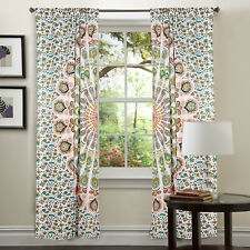 New Indien Floral Mandala Tapestry 100%Cotton Handmade Wall Hanging Dorm Solid