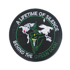 USAF Behind the Green Door Black Ops Area 51 Military Space Intelligence Patch