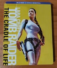 Lara Croft Tomb Raider Cradle of Life (Blu-ray / DVD) Steelbook - No Digital