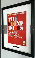 The Stone Roses-Original Programme-High Quality Framing-Oasis-Ian Brown-