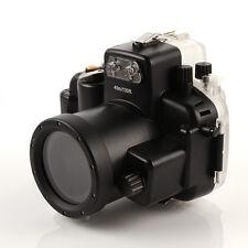 40m Waterproof Diving Housing Hard Case Underwater For Nikon D7200 DSLR Camera