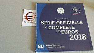 2018 8 monete 3,88 euro fdc FRANCIA BU France KMS Frankreich França ufficiale