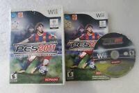 PES 2011 Pro Evolution Soccer (Nintendo Wii, 2010) COMPLETE TESTED!