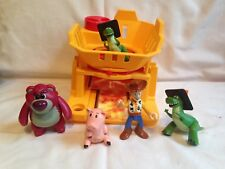 Toy Story plastic Toys Action Figures Woody Rex Dinosaur Pig bear fisher price