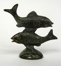 Fische Bronze Wien um 1900 - 1930 Hagenauer ?