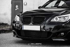 schwarze Nieren BMW 5er E60 Limousine Frontgrill  M5 Kühlergrill Salberk 6001