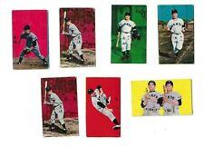 22 1958 Menko 7 Shigeo Nagashima (HOF) Rookie Cards  Masaichi Kaneda  6 HOFers