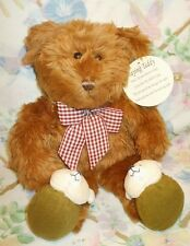 Avon Plush Praying Bedtime Prayer Now I Lay Me Down To Sleep Teddy Bear Mwt