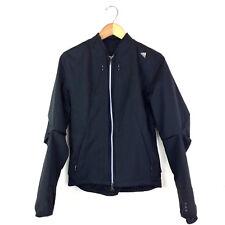 Adidas Women's Running Jacket Climacool Black Size 4 US Size 8 UK Vented B5