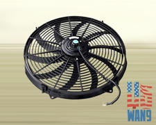 "16"" inch Universal Pull/Push Radiator Engine Cooling Tornado Slim Fan 12V"