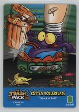 2011 The Trash Pack Trading Card Game Base #041 Rotten Rollerblade Gaming 1g9