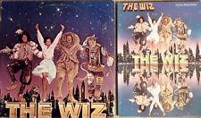 THE WIZ - MICHAEL JACKSON / D. ROSS - 2 LP SET,BOOKLET, POSTER, INSERT, SONGBOOK