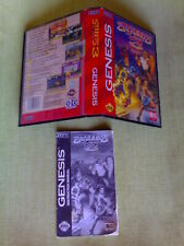OFERTA Caja, Manual STREETS OF RAGE III 3 Sega Mega Drive Genesis Ntsc Usa