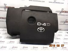 Toyota Avensis 2.0 D4D engine cover OEM used 2009