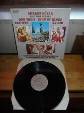 """ROZSA & NUREMBERG PHIL. ORCH. """"QUO VADIS"""" LP CN 7013 CLOUD NINE UK 1967"""