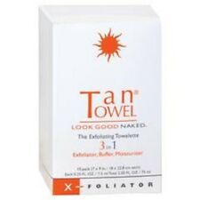 Tan Towel X-Foliator The Exfoliating Towelette 3 In 1 - 10 pack