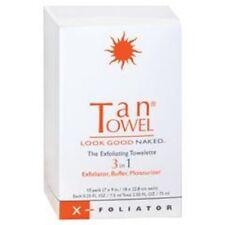 Tan Towel X-Foliator The Exfoliating Towelette 3 In 1 - 10 pack