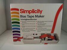 BRAND NEW SIMPLICITY BIAS TAPE MAKER & QUILT BINDING
