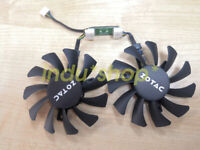 1pcs new  ZOTAC GeForce GTX 970 4GB card fan GA81S2U 4-wire temperature control