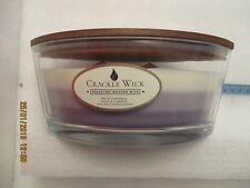 CRACKLE WICK CANDLE 485g 3 layer Gardenia Vanilla and amber Sakura & Sandalwood
