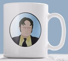 "The Office Mug - Dwight Schrute ""What's my perfect crime?"" quote mug."