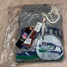 Seattle Seahawks Mitchell and Ness Zip Hoodie - New in Package - XXL - Gray NFL
