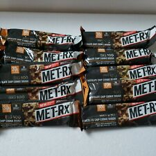 MET-Rx Big 100 Colossal Protein Bars x 10 chocolate chip cookie dough 03/2021